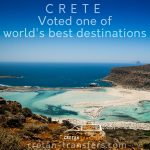 Crete voted as the 4th most popular destination in the world, according the millions of TripAdvisor users!